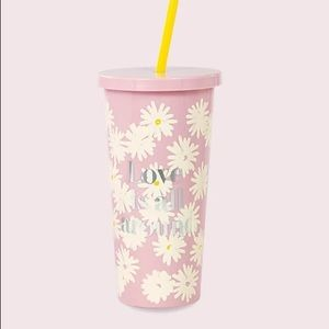 NWT Kate Spade Love Is All Around Tumbler